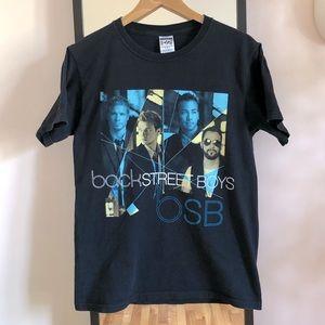 Vintage 2008 Backstreet Boys Band Tour Tee Shirt